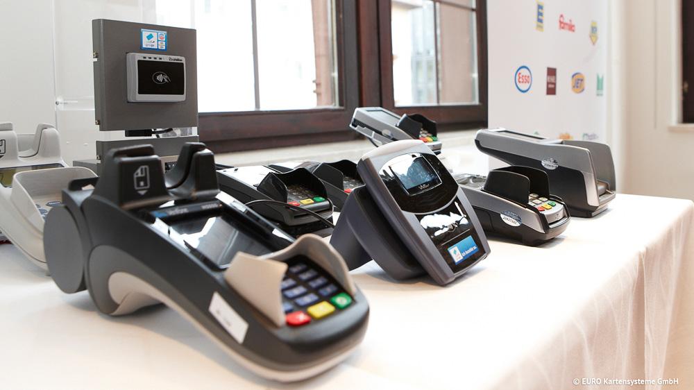 Terminals fürs kontaktlose Bezahlen
