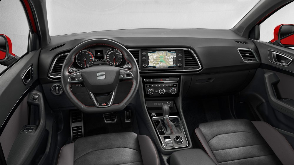 seat ateca fr interieur motoreport. Black Bedroom Furniture Sets. Home Design Ideas