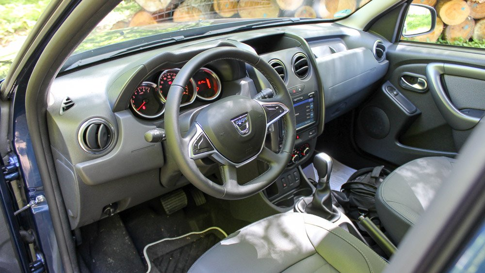 dacia duster interior » Motoreport