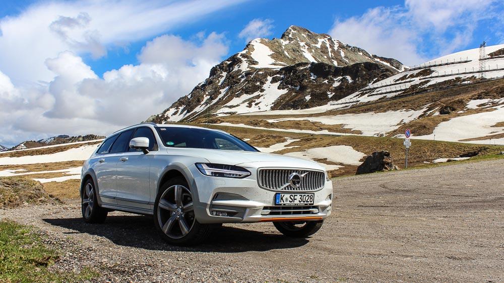 Dynamisch Mit Dem Volvo V90 D4 Awd Durch Die Alpen Motoreport