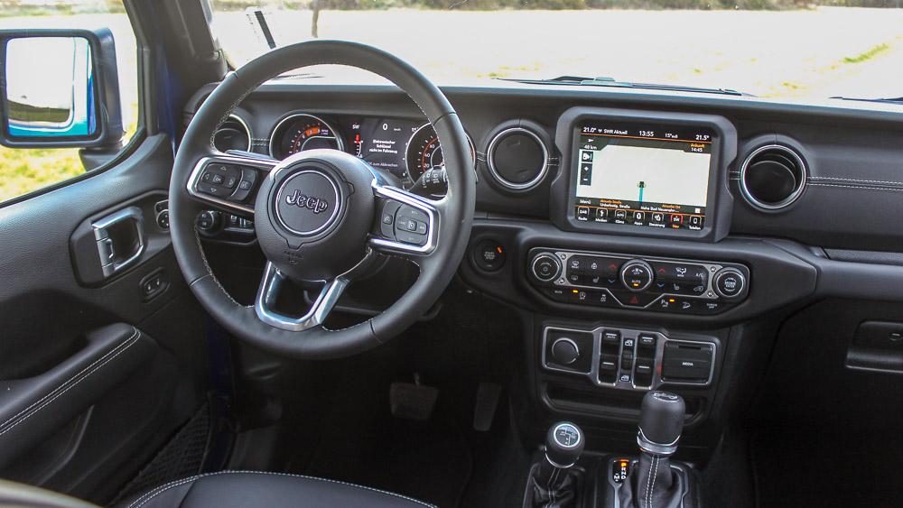 der neue jeep wrangler 2 2 crdi jl im onroad test. Black Bedroom Furniture Sets. Home Design Ideas