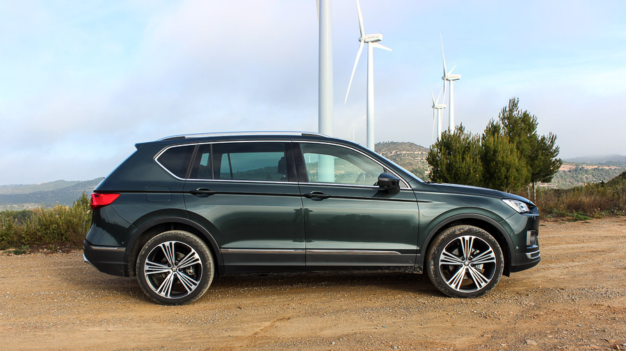 fahrbericht neuer seat tarraco 2 0 tdi 150 ps im test motoreport. Black Bedroom Furniture Sets. Home Design Ideas