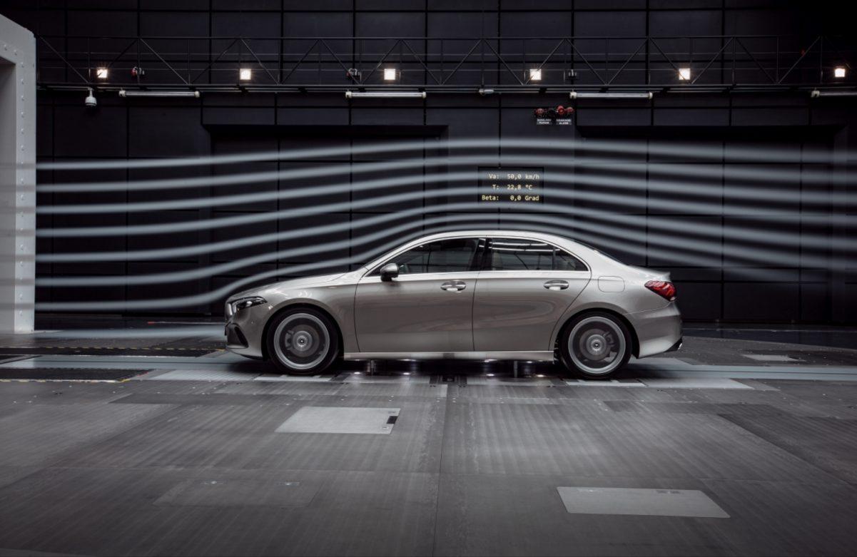 Strömungswiderstand Mercedes-Benz A-Klasse