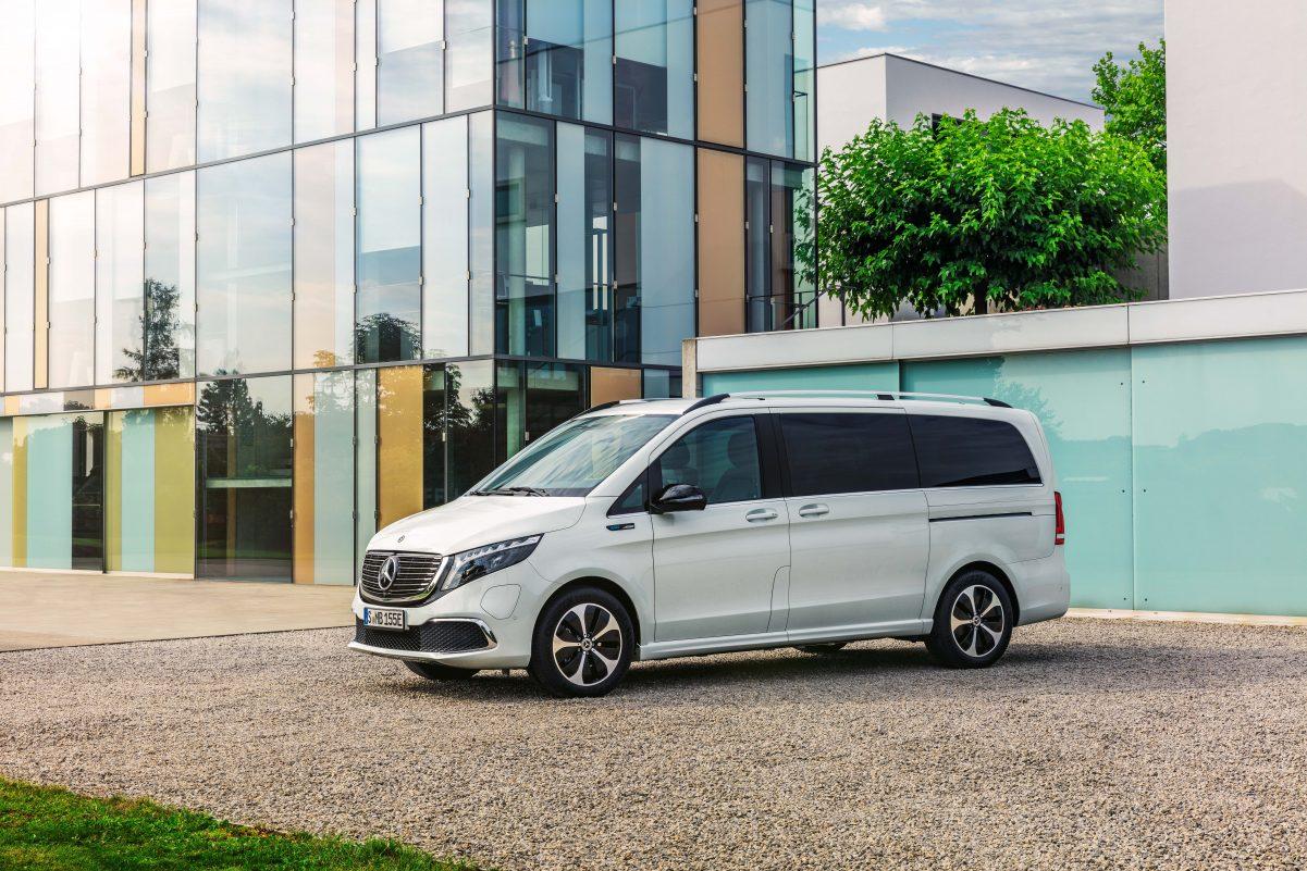 Seitenansicht Mercedes-Benz EQV