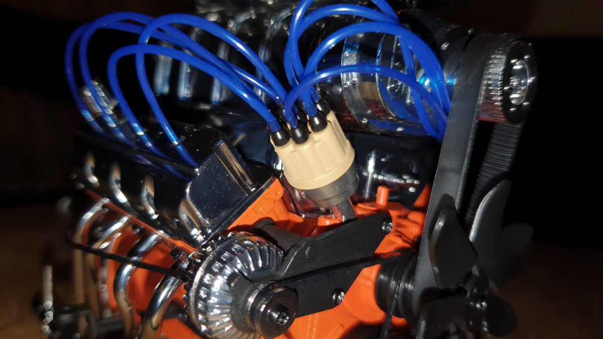 Motor des Dodge Charger R/T im Detail
