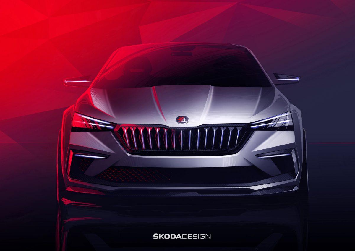 Front Skoda Vision RS