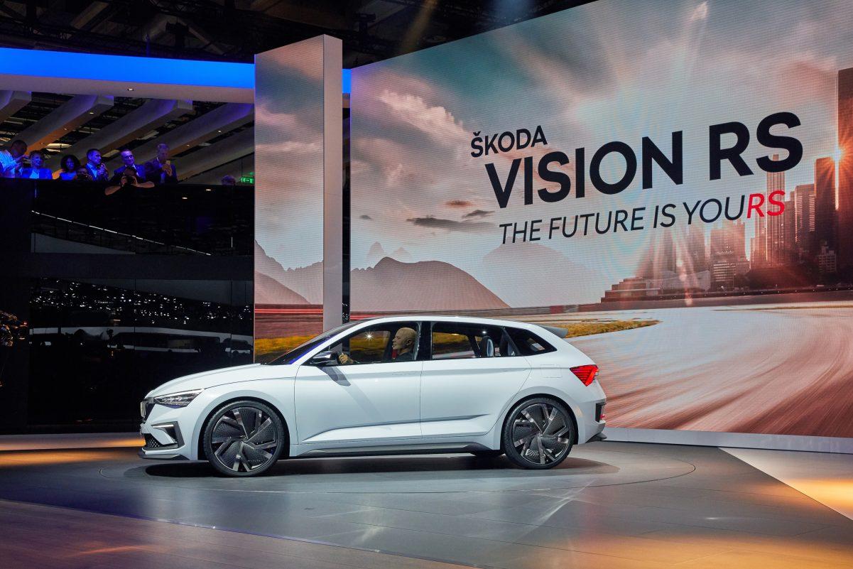 Seitenansicht Skoda Vision RS