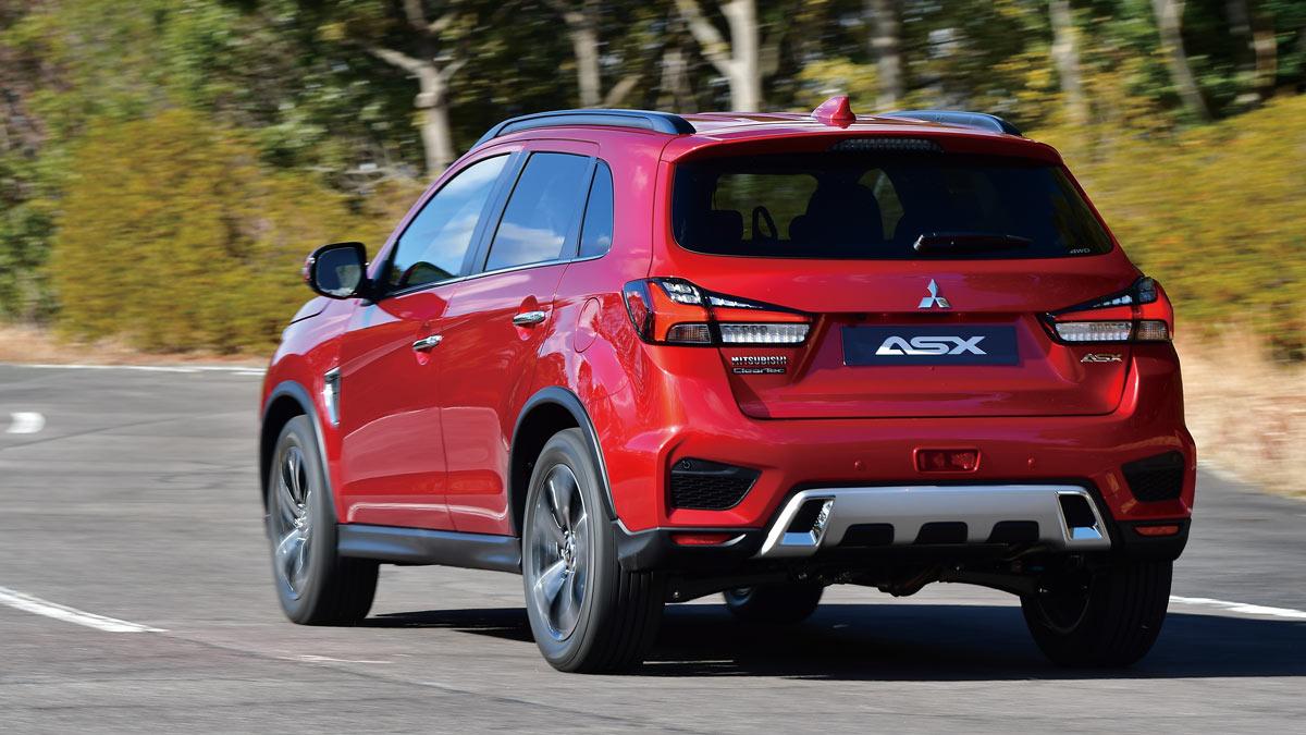 2020 Mitsubishi Asx Redesign