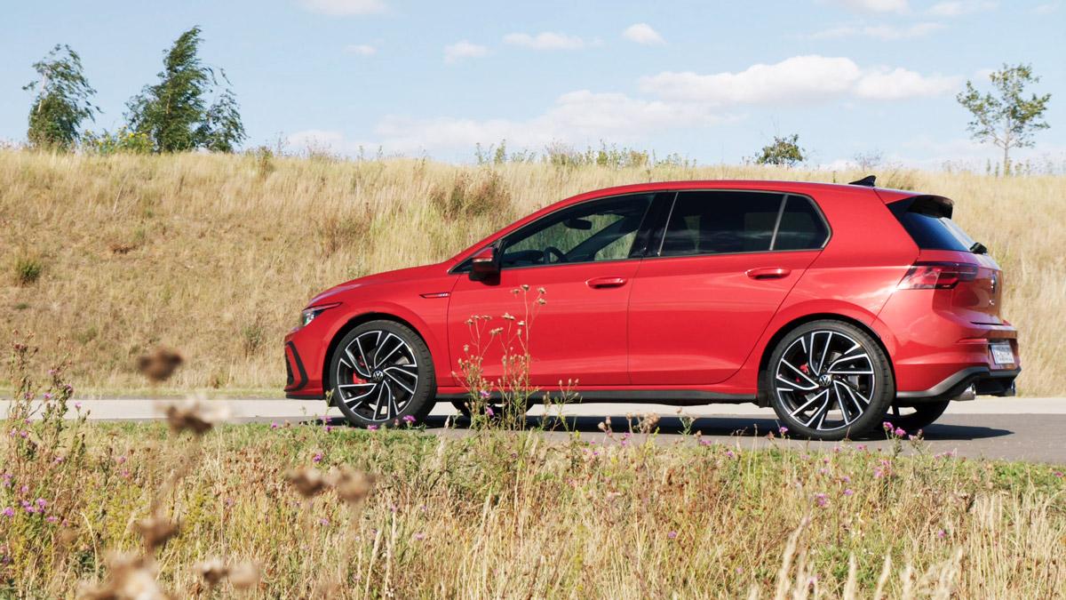 Volkswagen Golf 8 GTI Seitenansicht