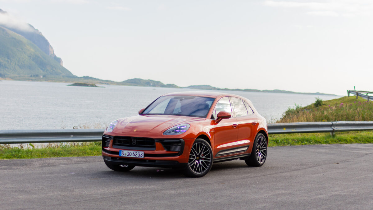 Macan S Frontansicht